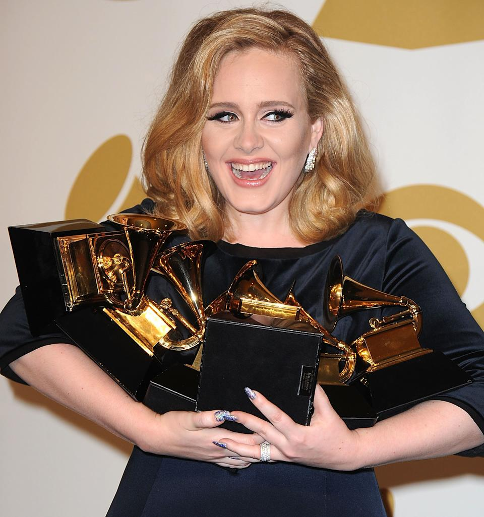 And then, of course, there's Adele, who managed to turn her disastrous break-up to her advantage and bag herselfa wheelbarrow of Grammys, which we have all the admiration in the world for. <br /><br />What was it Beyoncé said about 'lemons' and 'lemonade' again..?