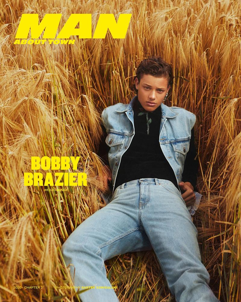 Bobby Brazier on the cover of Man About Town (Photo: Man About Town)