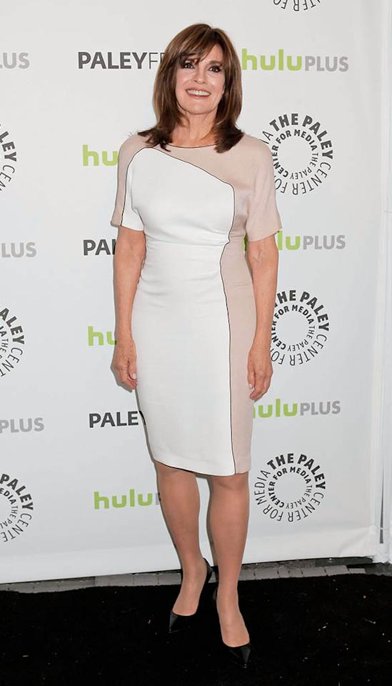 """Linda Gray attends the 30th Annual PaleyFest featuring the cast of """"Dallas"""" at Saban Theatre on March 10, 2013 in Beverly Hills, California."""