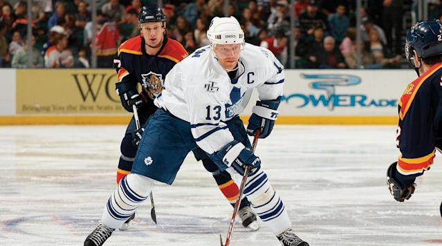 <p>The first European player ever chosen first overall, the slick Swede was traded to Toronto in 1994 and became the Maple Leafs' captain as well as their all-time leading scorer. The 10-time All-Star was inducted into the Hockey Hall of Fame in 2012. — Notable picks: No. 2: Dave Chyzowski, LW, New York Islanders | No. 5: Bill Guerin, RW, New Jersey Devils | No. 19: Olaf Kolzig, G, Washington Capitals | No. 22: Adam Foote, D, Quebec Nordiques | No. 53: Nicklas Lidstrom, D, Detroit Red Wings | No. 113: Pavel Bure, RW, Vancouver Canucks | No. 221: Vladimir Konstantinov, D, Detroit Red Wings</p>