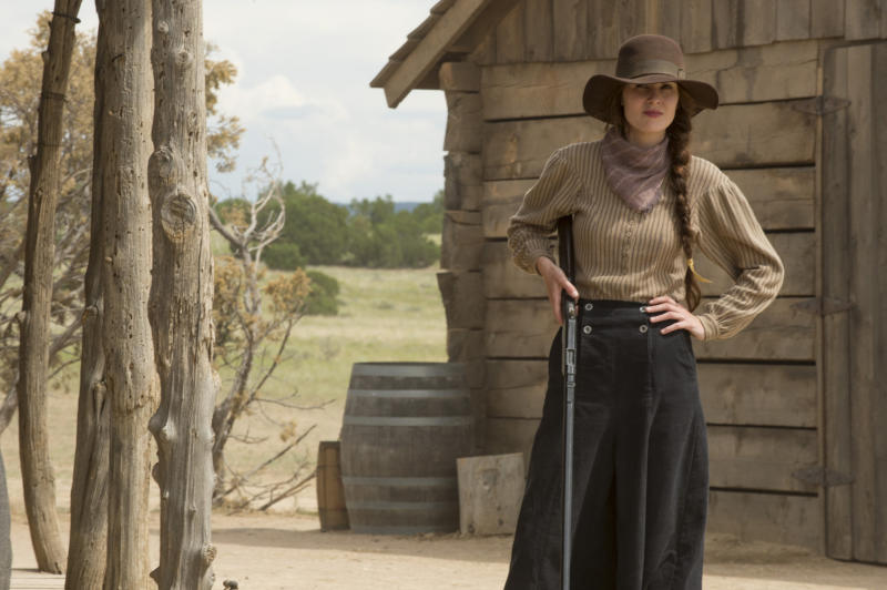 "Michelle Dockert in ""Godless."""