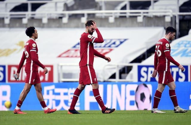 Liverpool were frustrated at St James' Park