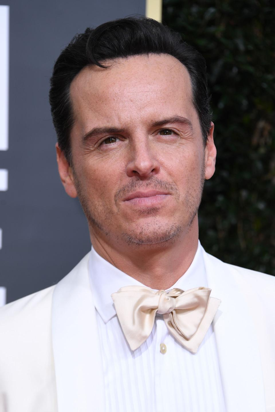 Andrew Scott at last year's Golden Globes (Photo: VALERIE MACON via Getty Images)