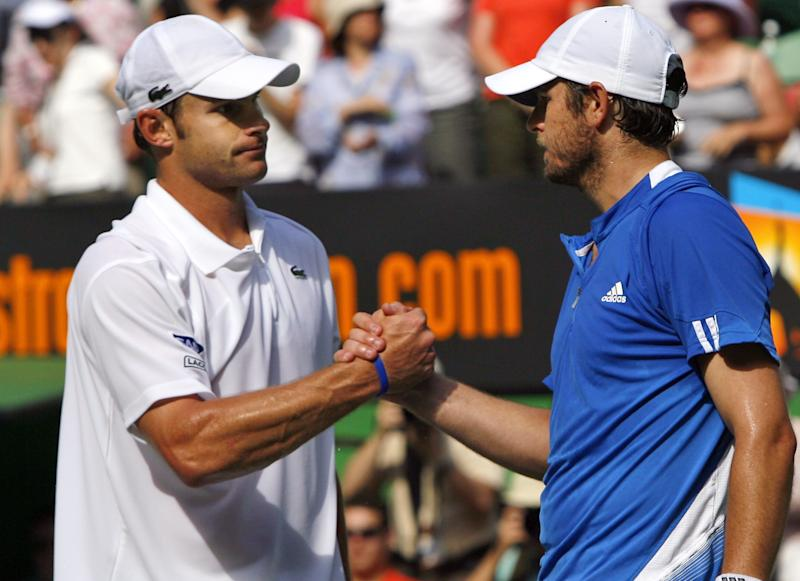 Andy Roddick, Mardy Fish to play doubles together in Atlanta