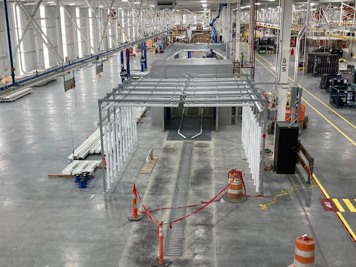Ford Rouge Electric Vehicle Center, where it will build the F-150 Lightning EV.