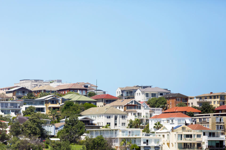 Pictured: Property in Sydney suburb bondi. Image: Getty