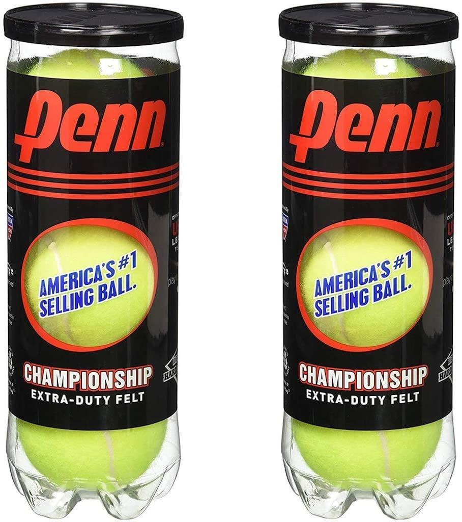 <p>It seems like a no-brainer, but you also need a can or two of <span>Penn Championship Tennis Balls</span> ($14).</p>