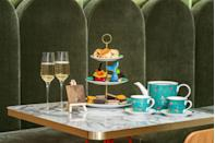 """<p>The Natural History Museum-inspired afternoon tea at <a href=""""https://go.redirectingat.com?id=127X1599956&url=https%3A%2F%2Fwww.booking.com%2Fhotel%2Fgb%2Fhotel-london-kensington-managed-by-melia.en-gb.html%3Faid%3D2070929%26label%3Dhotel-afternoon-tea&sref=https%3A%2F%2Fwww.redonline.co.uk%2Ftravel%2Fg37102406%2Fhotel-afternoon-tea%2F"""" rel=""""nofollow noopener"""" target=""""_blank"""" data-ylk=""""slk:Melia London Kensington"""" class=""""link rapid-noclick-resp"""">Melia London Kensington</a>'s SW7 Brasserie is a celebration of one of the capital's best-loved historical institutions. Here, you can tuck into elaborately crafted treats, including a blue whale's Tail constructed from brownie, apricot and black sesame, as well as a yuzu and bergamot tart resembling a dinosaur egg and a matcha and raspberry butterfly.</p><p>There's also a choux-style black forest owl and passion fruit and Thai basil-flavoured ammonite, along with afternoon tea classics such as mini sandwiches filled with salmon and cream cheese, and plain and raisin scones with clotted cream and strawberry jam. Tea and a glass of Chapel Down English sparkling wine are also served with the tea.</p><p><strong>Price:</strong> £29 per person</p><p><a class=""""link rapid-noclick-resp"""" href=""""https://go.redirectingat.com?id=127X1599956&url=https%3A%2F%2Fwww.booking.com%2Fhotel%2Fgb%2Fhotel-london-kensington-managed-by-melia.en-gb.html%3Faid%3D2070929%26label%3Dhotel-afternoon-tea&sref=https%3A%2F%2Fwww.redonline.co.uk%2Ftravel%2Fg37102406%2Fhotel-afternoon-tea%2F"""" rel=""""nofollow noopener"""" target=""""_blank"""" data-ylk=""""slk:BOOK A ROOM"""">BOOK A ROOM</a></p>"""