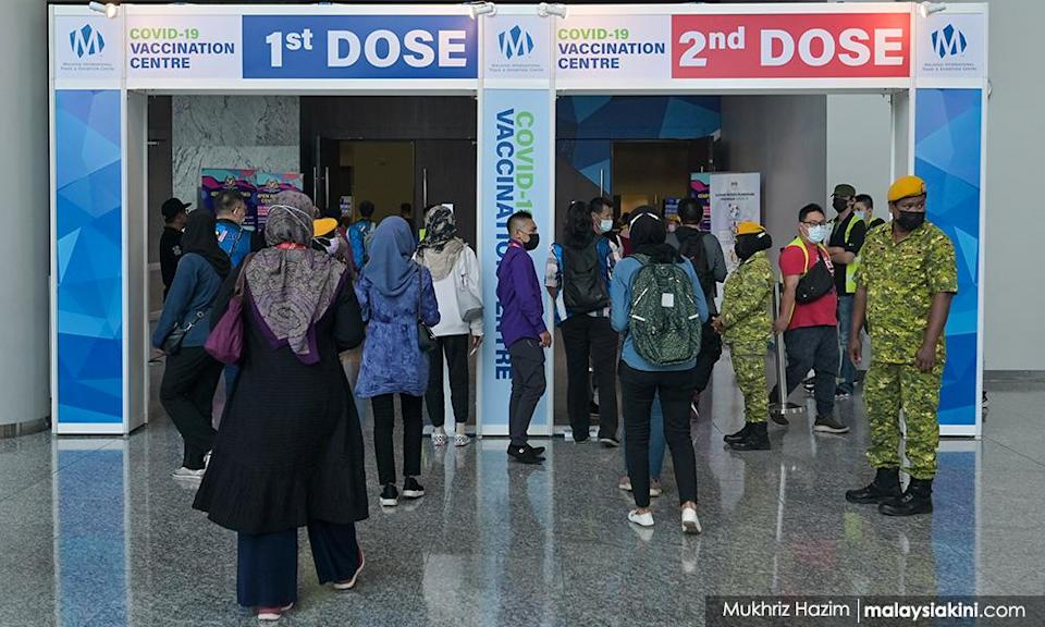 August walk-in vaccination at certain centres only