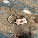 """<p><strong>PearlieGirl</strong></p><p><a href=""""https://go.redirectingat.com?id=74968X1596630&url=https%3A%2F%2Fwww.etsy.com%2Flisting%2F974466687%2F10-years-tally-mark-keychain&sref=https%3A%2F%2Fwww.thepioneerwoman.com%2Fholidays-celebrations%2Fgifts%2Fg32268043%2Fgifts-for-husbands%2F"""" rel=""""nofollow noopener"""" target=""""_blank"""" data-ylk=""""slk:Shop Now"""" class=""""link rapid-noclick-resp"""">Shop Now</a></p><p>You can choose the number of hash marks added to this adorable keychain. It'll remind him of all of your incredible years together.</p>"""