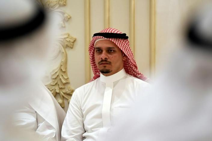 The announcement by Salah Khashoggi could spare the lives of five unnamed people sentenced to death over the murder in a December court ruling (AFP Photo/Amer HILABI)