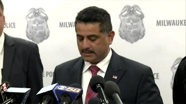 While police chief Alfonso Morales apologized for the police brutality against Sterling Brown, the Milwaukee police union looked to blame others. (AP)