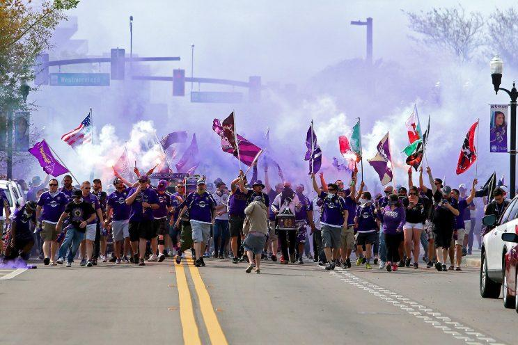 Orlando City's fans and home-field advantage have helped the club move into the thick of the MLS Eastern Conference playoff race. (Getty)