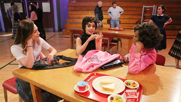 Behind the scenes of grease live