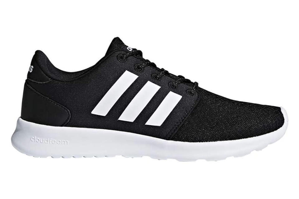 adidas, sneakers, cloudfoam, black