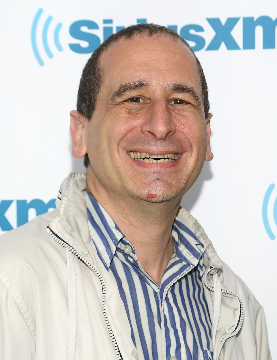 NEW YORK, NY - MAY 01: Writer and producer Mike Reiss visits SiriusXM Studios on May 1, 2015 in New York City.  (Photo by Monica Schipper/Getty Images)