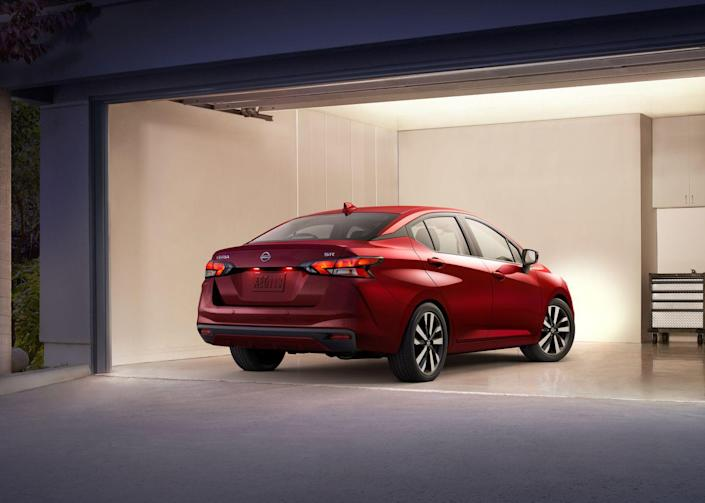 <p>The most significant improvement on the all-new Versa is the addition of driver-assistance technology that was unavailable on any Versa until now. This includes standard automated emergency braking with pedestrian detection, rear automated emergency braking, automatic high-beam headlights, and lane-departure warning.</p>