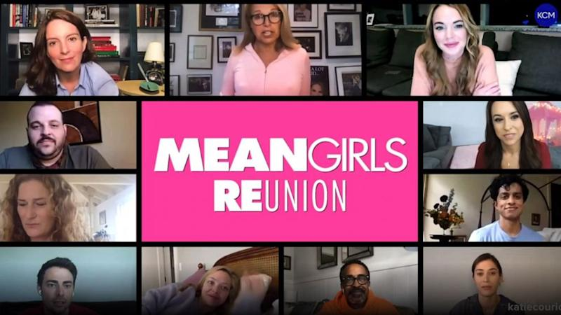 'Mean Girls' cast reunites for the first time since 2004 to support voter registration