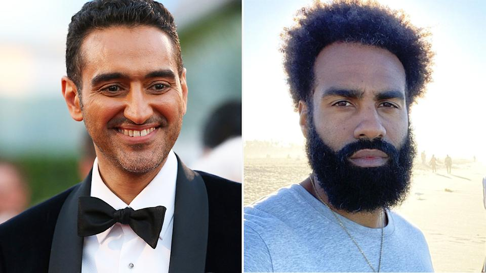 Waleed Aly's 2017 interview with Heritier Lumumba on The Project has been deleted from social media, sparking criticism of Channel 10. Pictures: Getty Images/Instagram