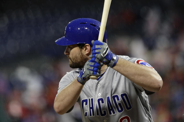 New Chicago Cubs infielder Daniel Murphy has been a hitting machine at Wrigley Field and in the postseason. (AP)