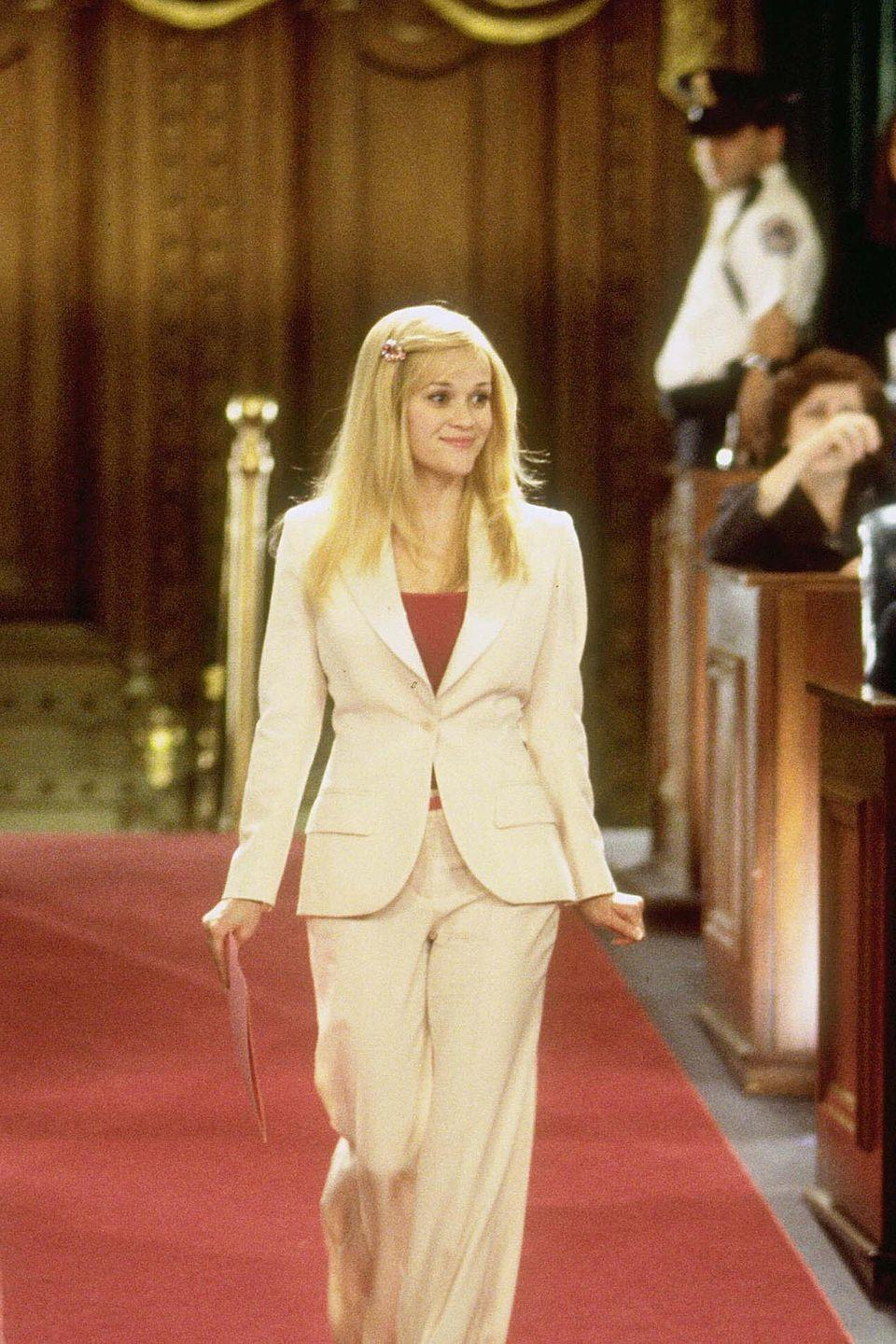 <p>Reese Witherspoon's portrayal of Elle Woods in both Legally Blonde movies is filled memorable fashion moments, many of which should inspire your back-to-work wardrobe, particularly if you're partial to a bit of pink.</p>