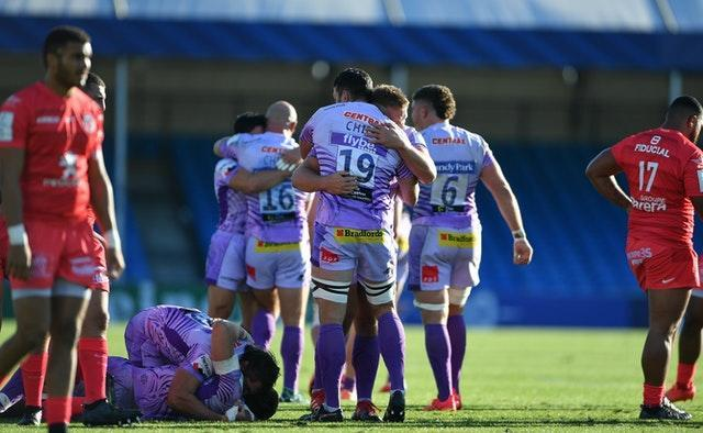 Exeter defeated Toulouse in last season's Champions Cup semi-final