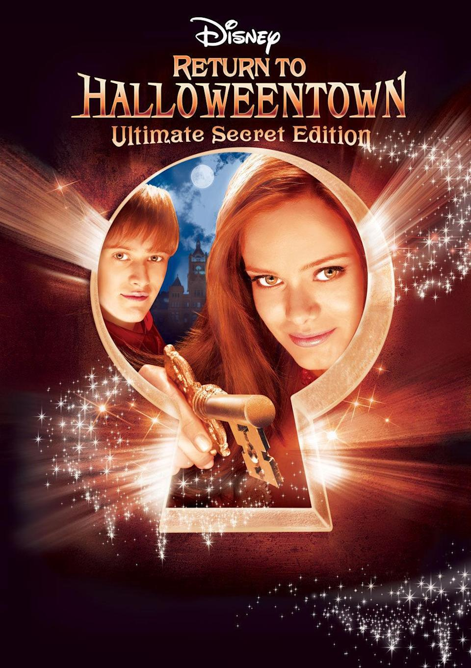 <p>Witchcraft is never a one-time deal, so it's back to Halloweentown for young Marnie (Sara Paxton, <i>The Innkeepers</i>). But this time there's a twist: She's going to college!<br><br><i>(Credit: Disney Channel)</i> </p>