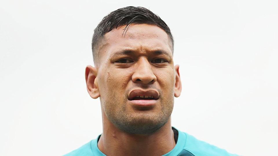 Folau will challenge the decision to terminate his contract. Pic: Getty