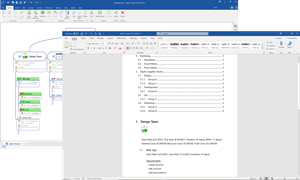 New MindManager Windows 21 offers enhanced flexibility when exporting to Microsoft Word.
