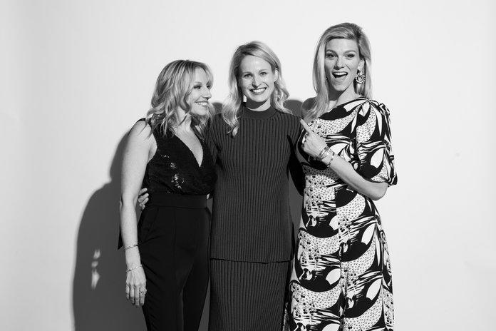 <p>Kristin O'Keeffe Merrick,&nbsp;Natalie Wadsworth, and Lindsay Shookus.</p> | <p>Rosalind O'Connor</p>