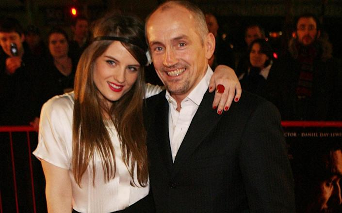 Former world boxing champion Barry McGuigan and his daughter Danika - Niall Carson/PA