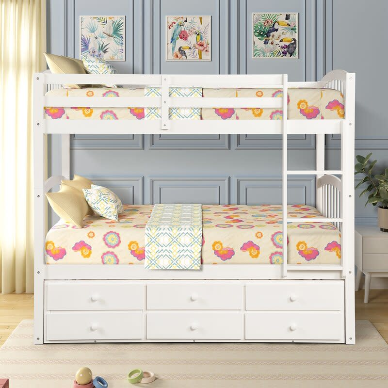 bunk bed, wayfair