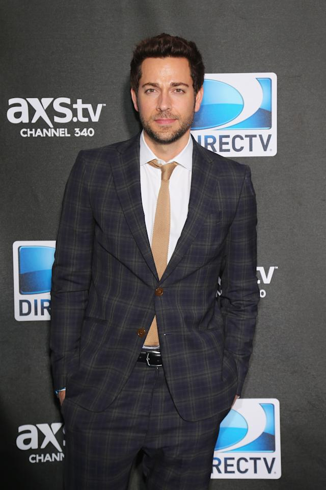 NEW ORLEANS, LA - FEBRUARY 02:  Zachary Levi attends DIRECTV Super Saturday Night Featuring Special Guest Justin Timberlake & Co-Hosted By Mark Cuban's AXS TV on February 2, 2013 in New Orleans, Louisiana.  (Photo by Neilson Barnard/Getty Images for DirecTV)