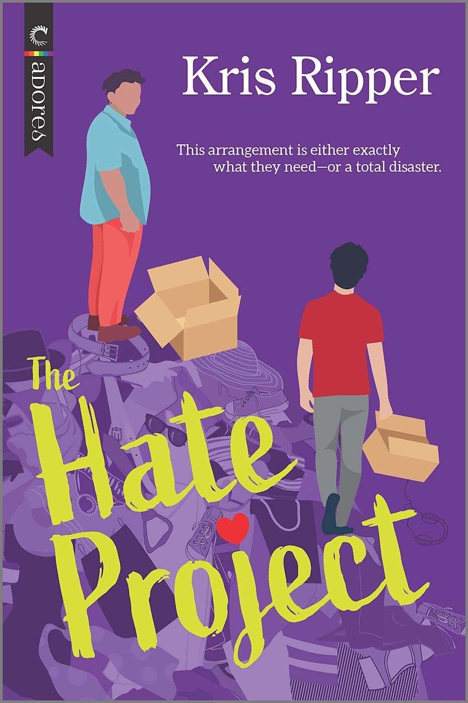 <p><span><strong>The Hate Project</strong></span> by Kris Ripper follows the grouchy Oscar and the pompous Jack, whose one-night stand is definitely not going to become something more. At least that's what they think until Oscar takes a job helping Jack clean out his grandmother's house, and they begin to realize they don't dislike each other nearly as much as they initially thought they did. </p> <p><em>Out April 27</em></p>