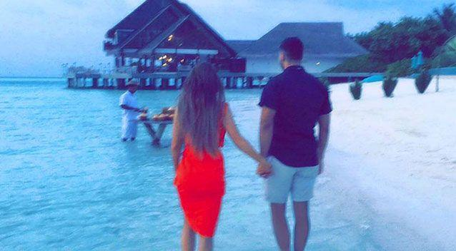 Mr Mehajer posted this photo on his Facebook page on Tuesday night trying to stop speculation that his marriage was on the rocks. Photo: Facebook