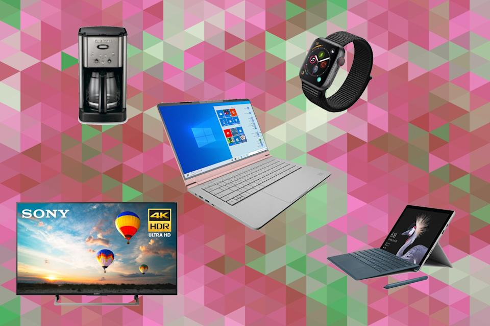 The best deals of the week include a 4K TV, a smart watch and a mega coffee maker. (Photo: Walmart)