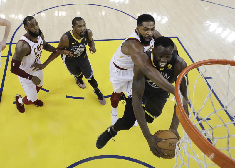 Tristan Thompson walks out on interview: 'That's f----- up'