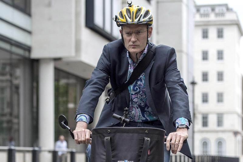 Jeremy Vine: The cyclist and BBC broadcaster is set to speak at City Hall today: PA