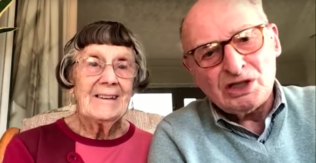 Pauline and Geoffrey appeared on This Morning to talk about their viral video (ITV)