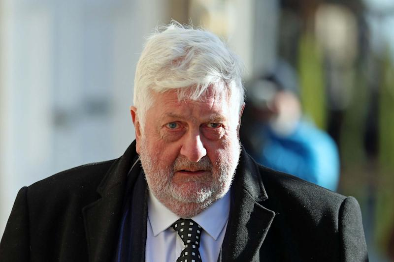 Gordon Jackson QC, defending Mr Salmond, arrives at the High Court: PA