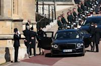 <p>Philip's granddaughter Princess Beatrice was one of just 30 guests at the funeral. (PA)</p>