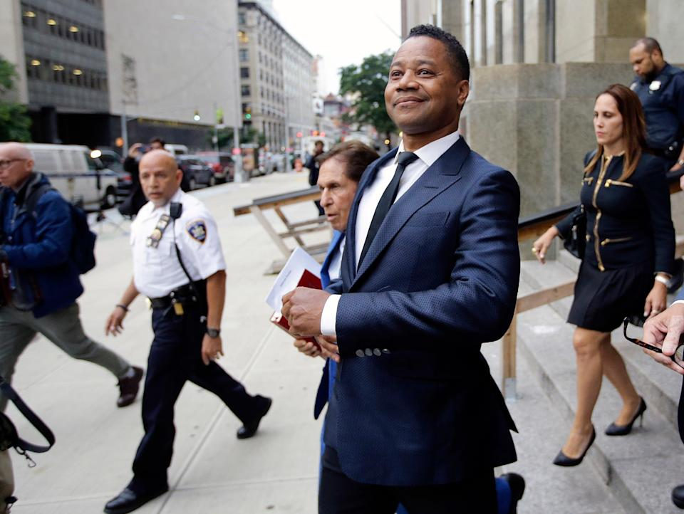 Sexual Misconduct Cuba Gooding Jr (Copyright 2019 The Associated Press. All rights reserved.)