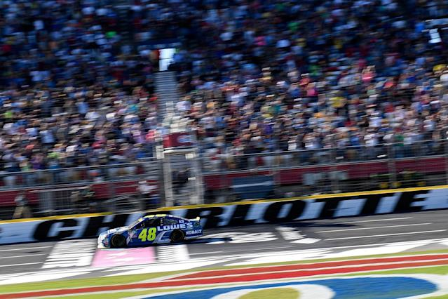 "The fall Charlotte race won't be any different than the one <a class=""link rapid-noclick-resp"" href=""/nascar/sprint/drivers/213/"" data-ylk=""slk:Jimmie Johnson"">Jimmie Johnson</a> won in 2016."