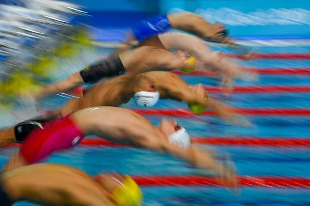 Australia won six out of seven finals on the last night of the swimming competition