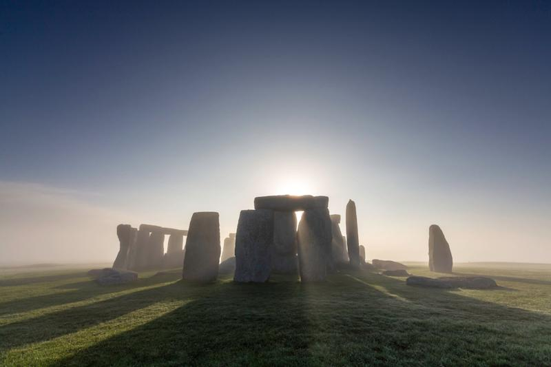 The sun rising over Stonehenge in Wiltshire (Picture: PA)