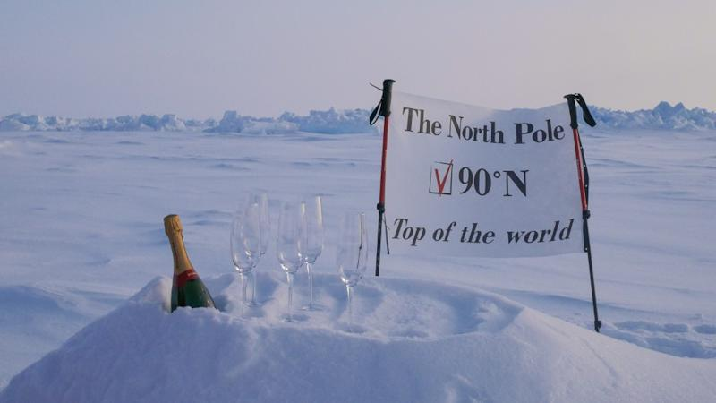 Luxury Action's North Pole Igloos hote