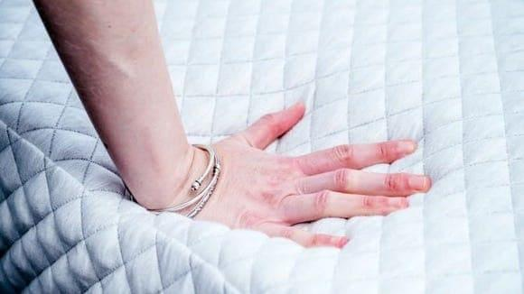 The Leesa Hybrid mattress hits the perfect balance of support and cushion.