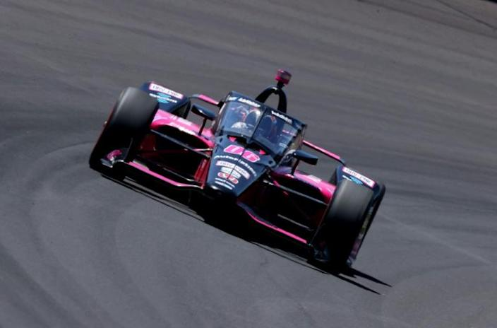 Helio Castroneves won his fourth Indianapolis 500 at age 46