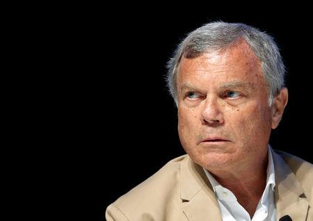 FILE PHOTO: Sir Martin Sorrell, Chairman and CEO of advertising company WPP, attends a conference at the Cannes Lions Festival in Cannes