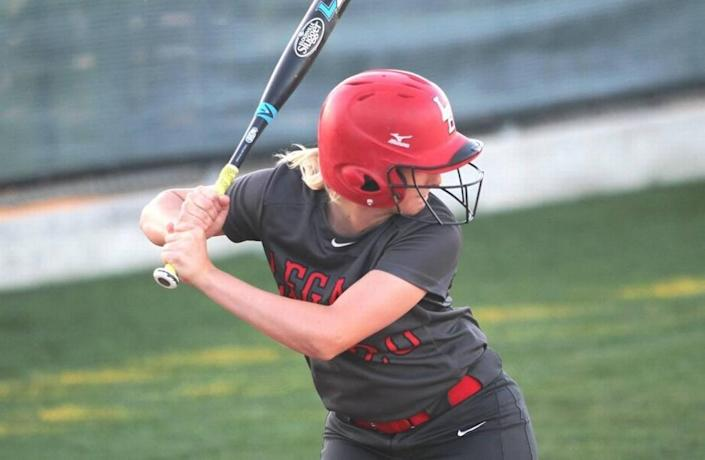 Former Legacy softball catcher Reagan Wright was recently named to the MaxPreps 2016 Softball All-American team.
